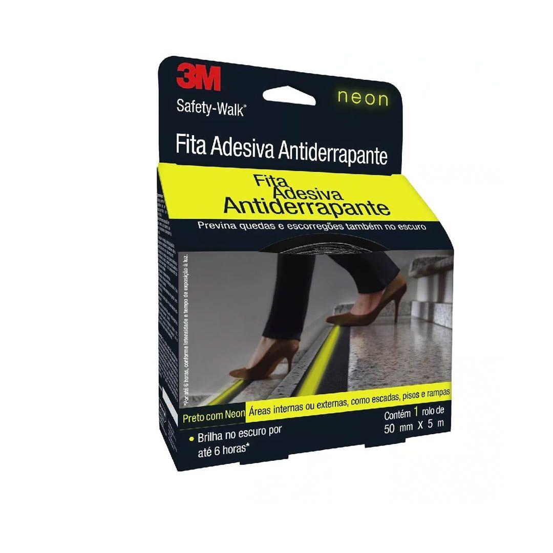 Fita Antiderrapante Safety-Walk Neon - 3M