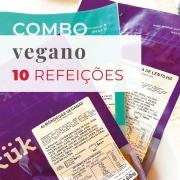 Combo Vegano 10 Refeições