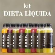 Dieta Líquida - 8 Sucos