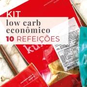 Kit Low Carb Econômico - 10 Refeições - Teste