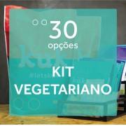 Kit Vegetariano - 30 opções