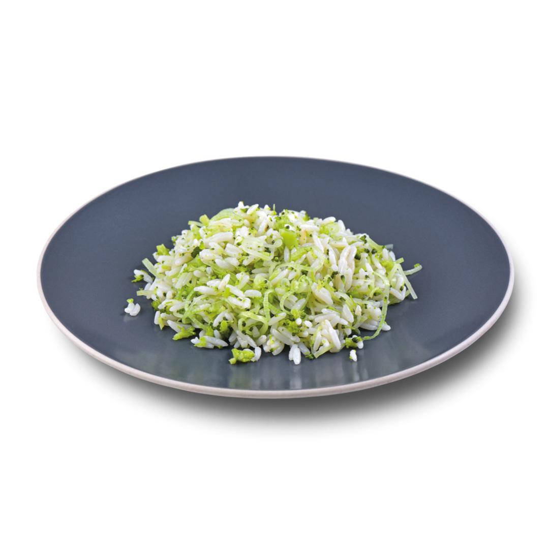 Arroz com Brócolis e Alho Poró  - kük