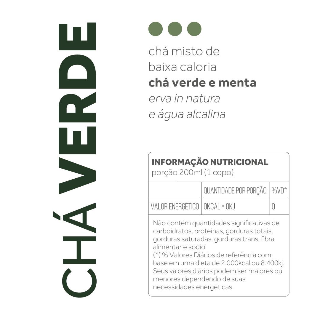 Chá Verde - 300ml  - kük