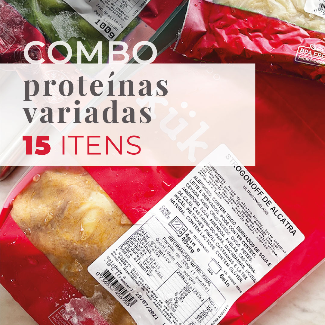 Combo 15 Proteínas (Variados)  - kük