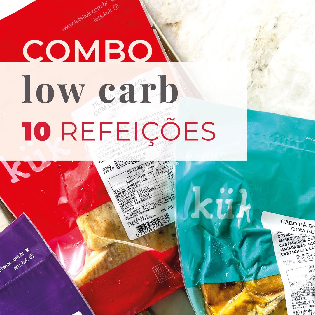Combo Low Carb 10 Refeições