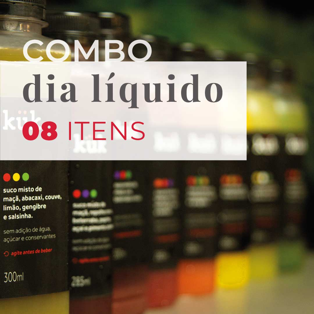 Dia Líquido - 8 itens  - kük