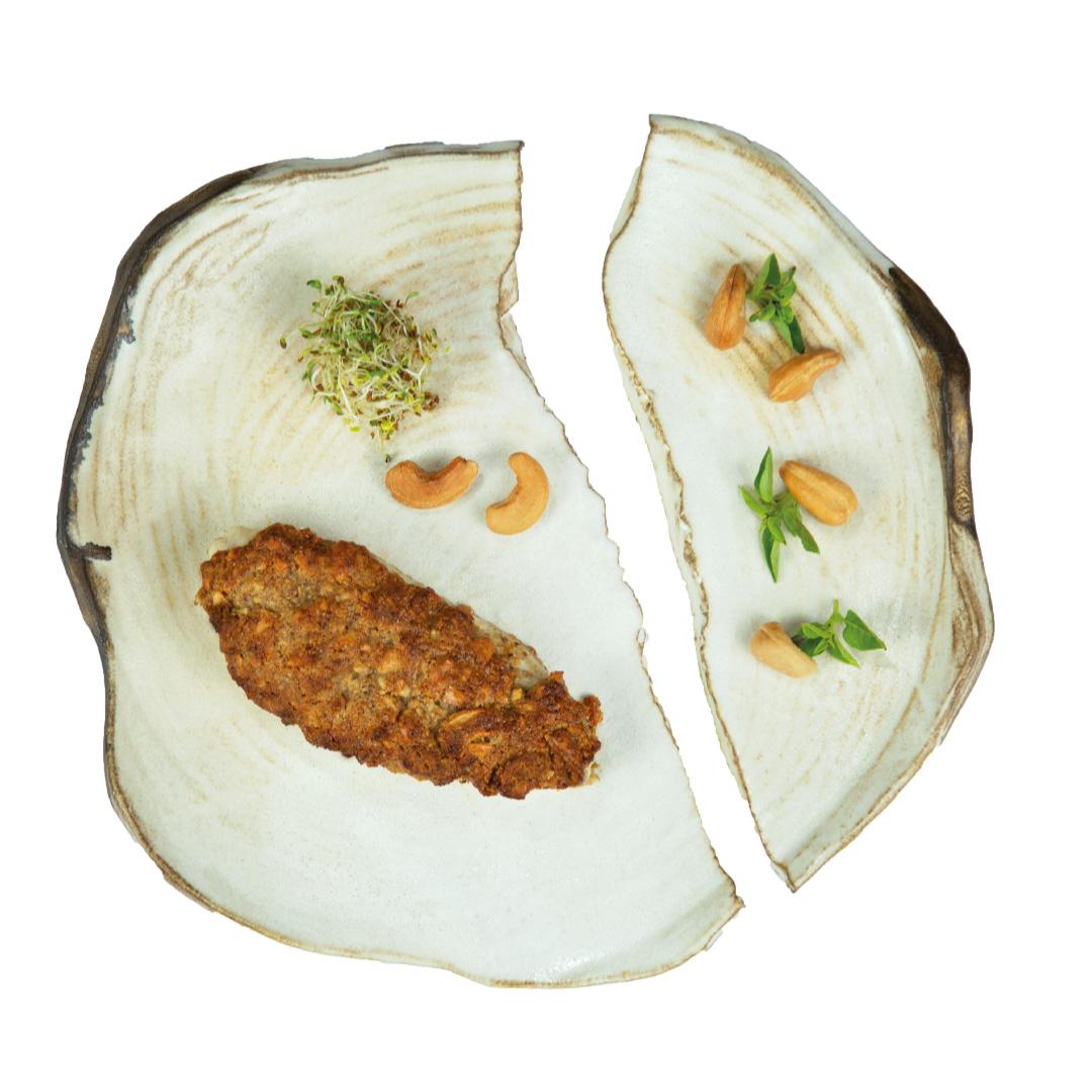 Frango com Crosta de Castanha de Caju  - kük