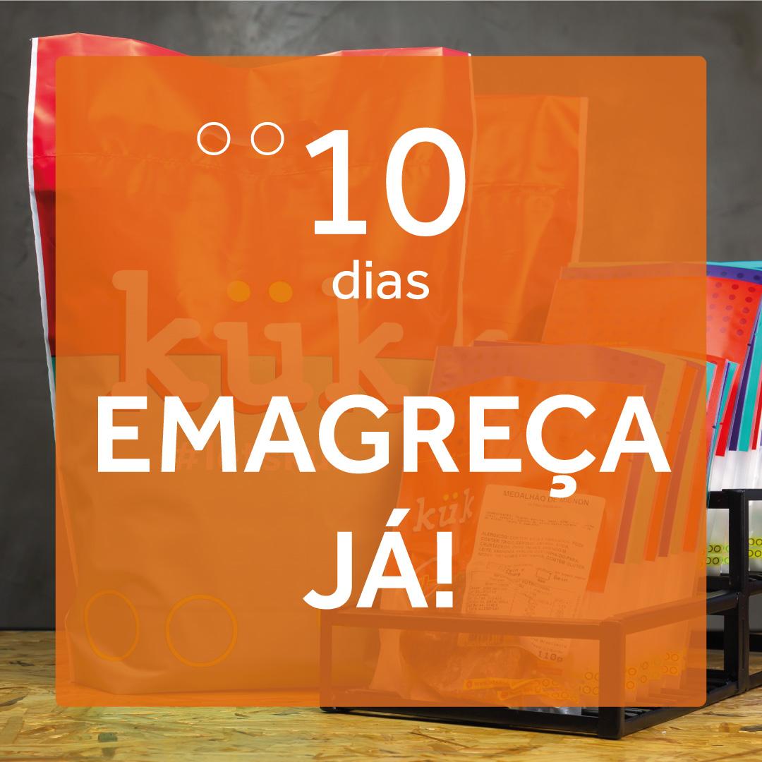 Kit Emagreça já! - 10 Dias - Café da Manhã, Almoço e Jantar  - kük