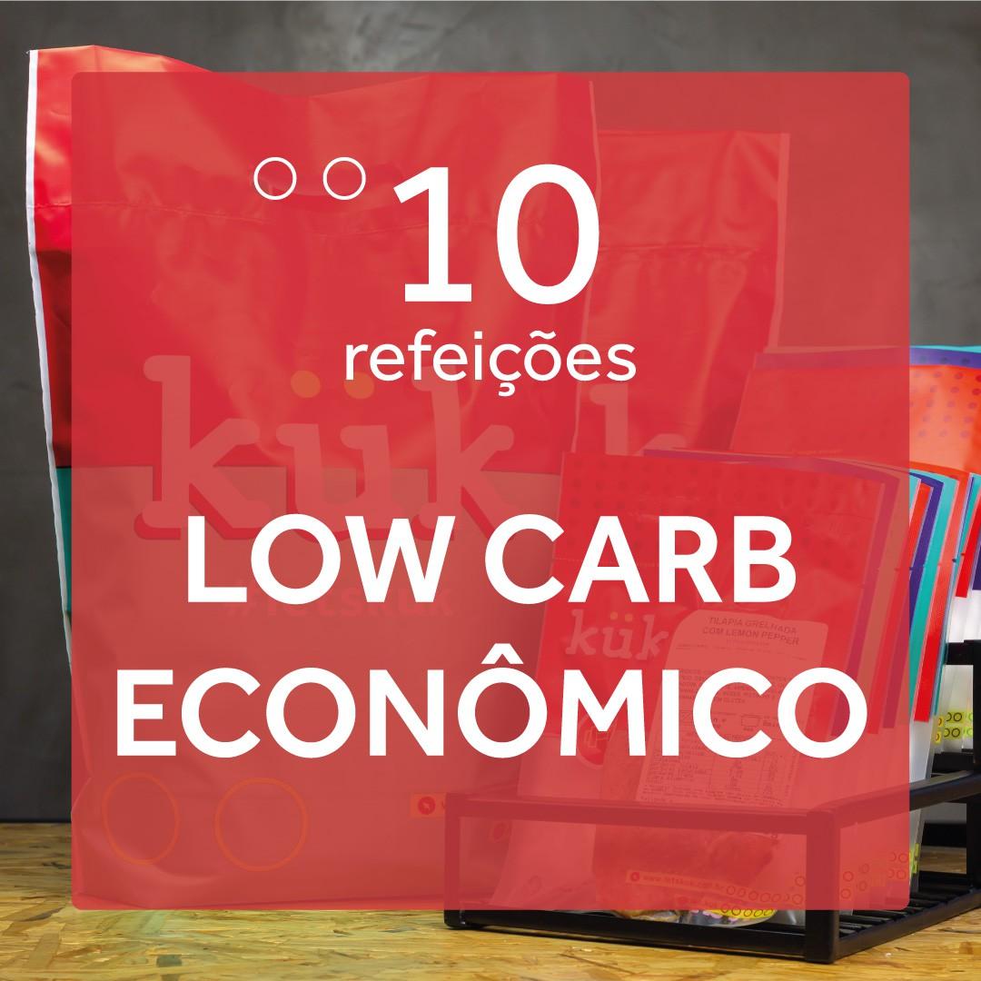 Kit Low Carb Econômico - 10 Refeições
