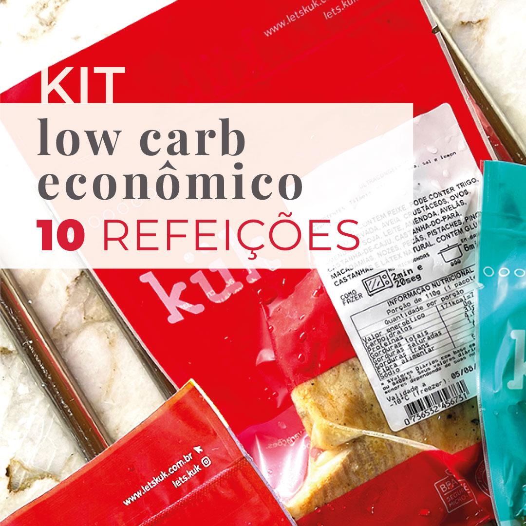 Kit Low Carb Econômico - 10 Refeições - Teste  - kük