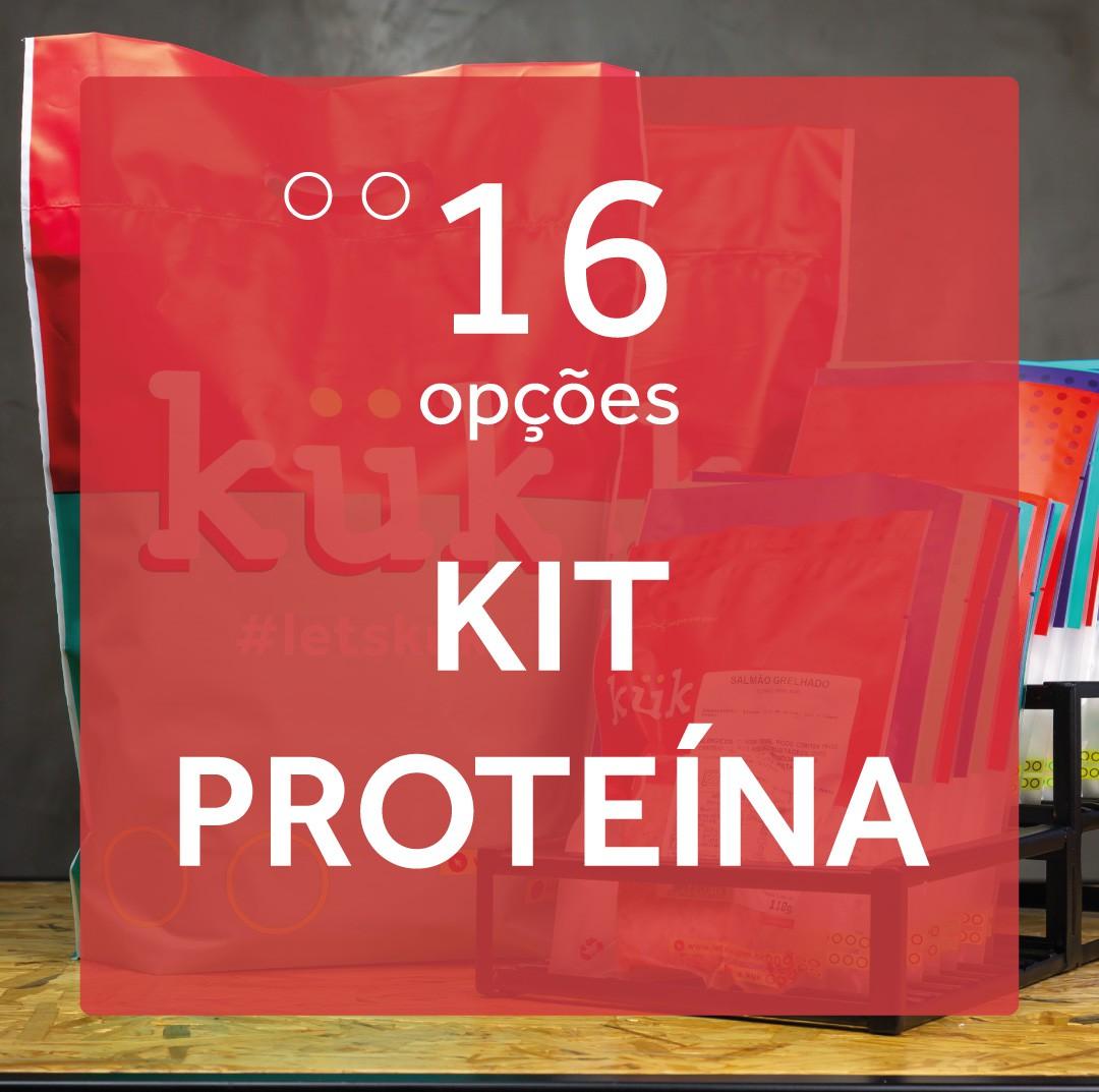 Kit Proteína - 16 Opções