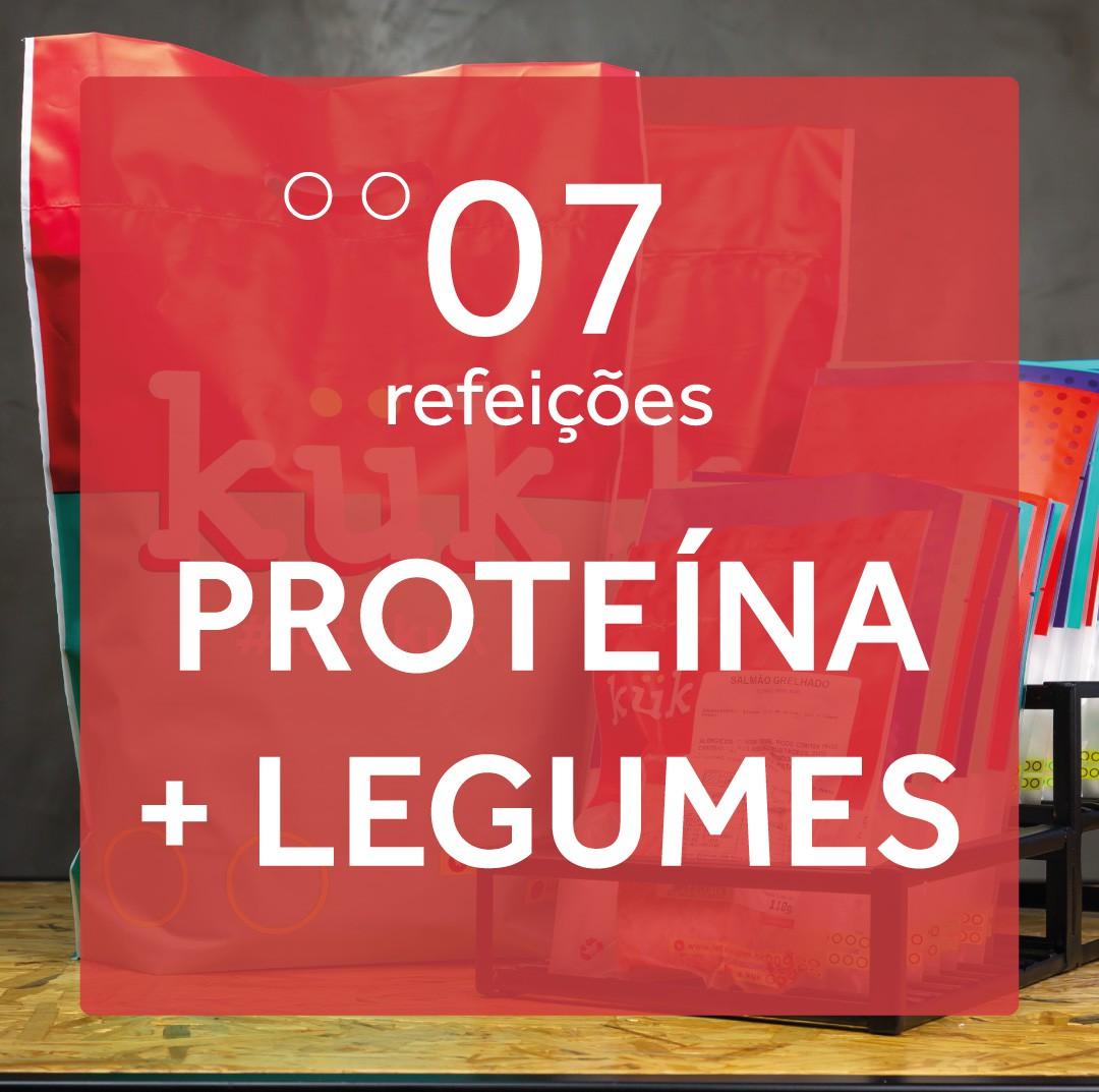 Kit Proteína + Legumes - 7 Refeições