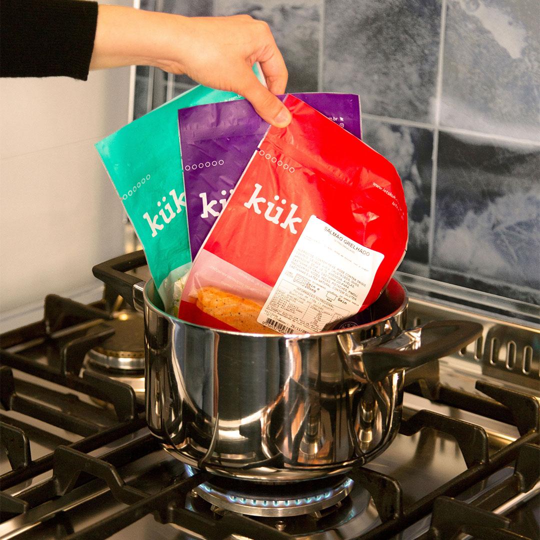 Kit Vegetariano - 30 opções  - kük