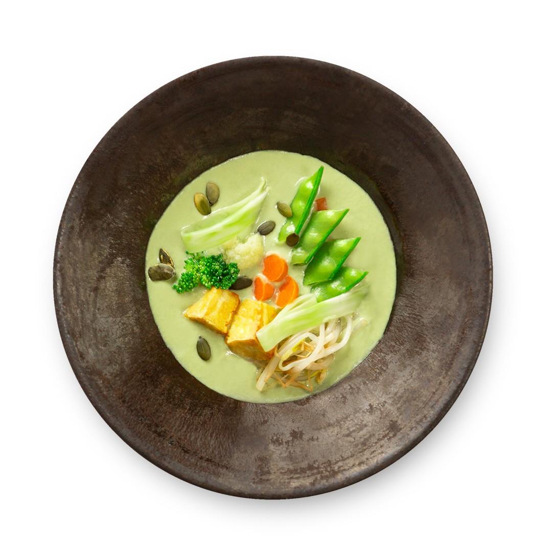 Legumes ao Curry Verde