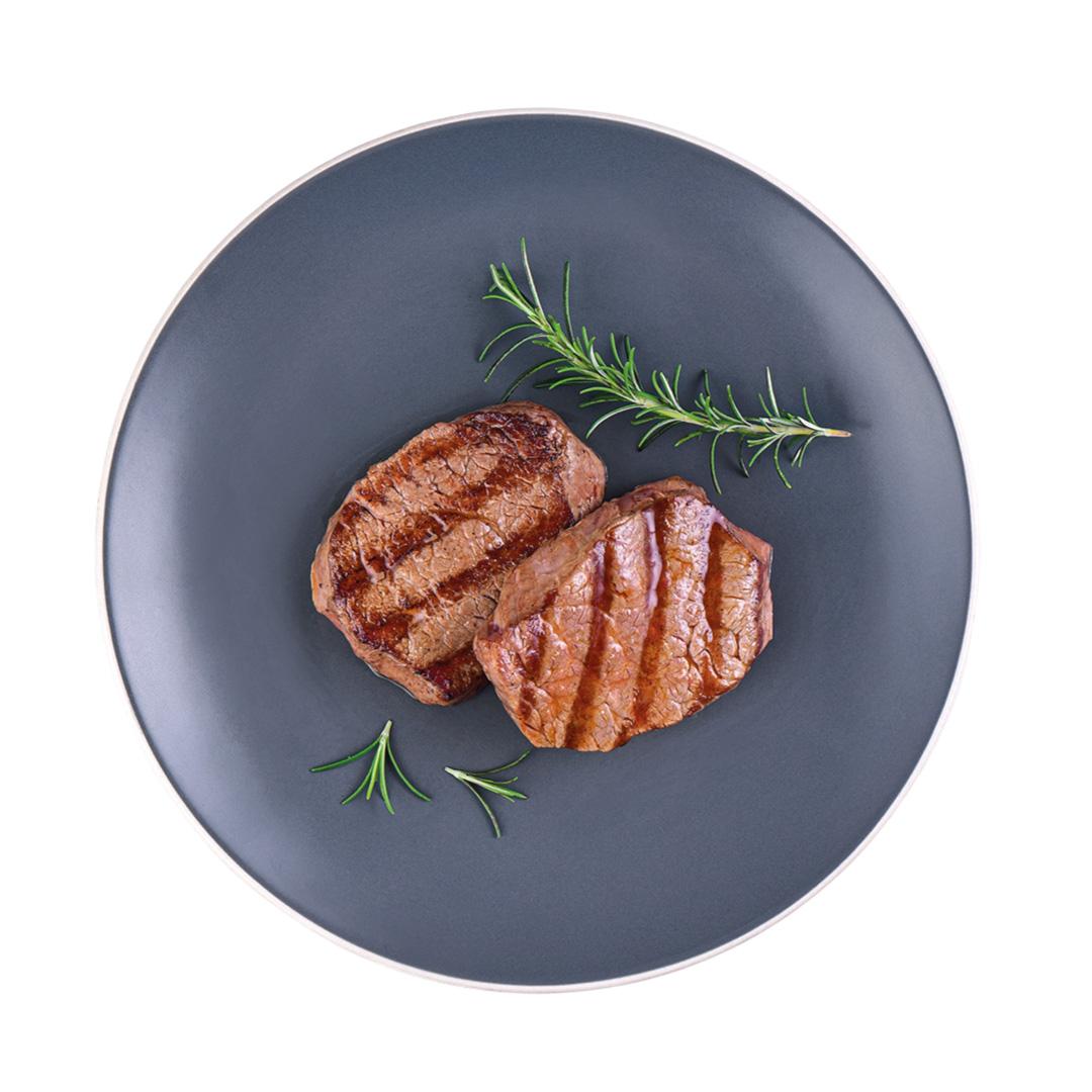 Risoto de Carne Seca, Medalhão de Mignon e Aspargos (Prato)  - kük