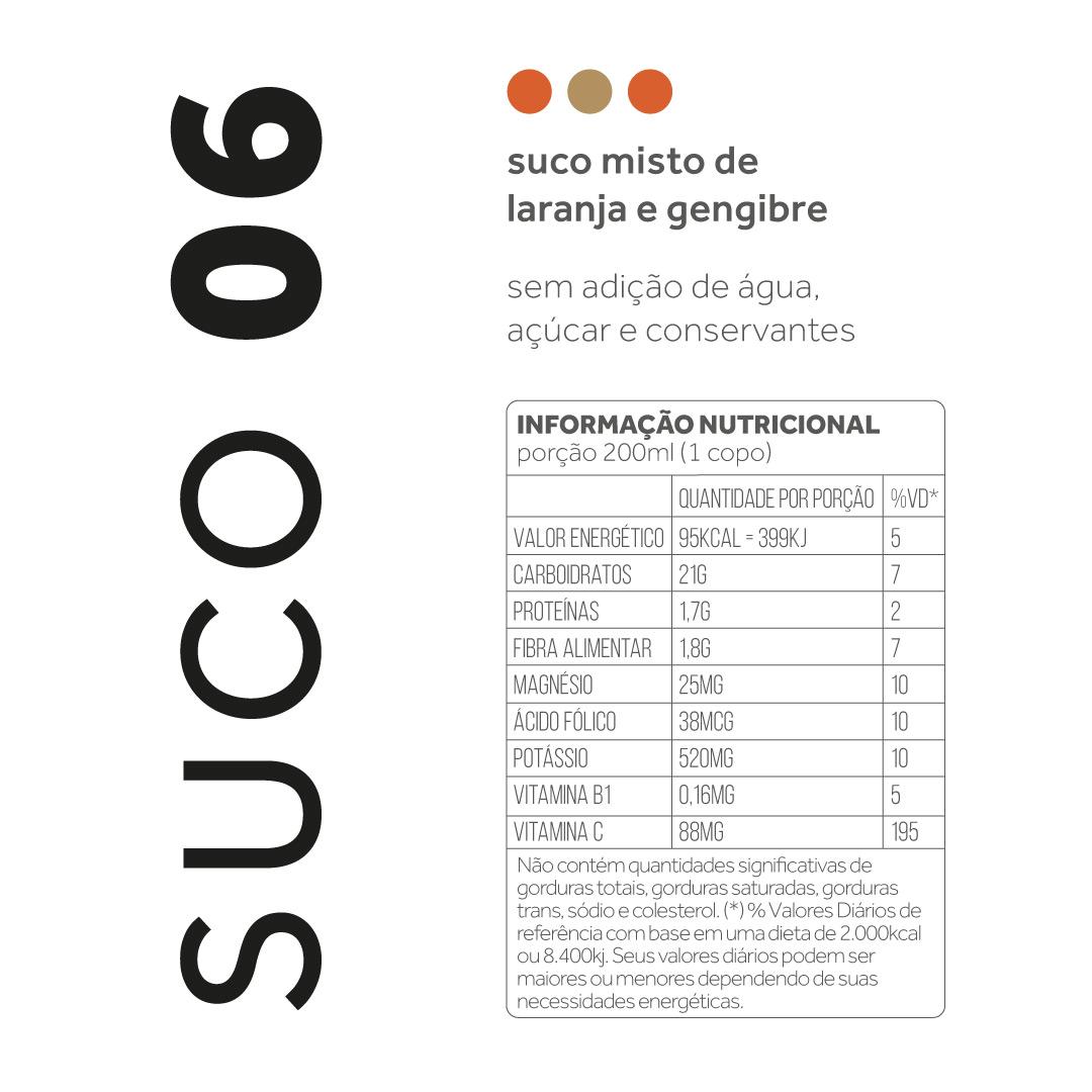 Suco 06 - Laranja e gengibre  - kük