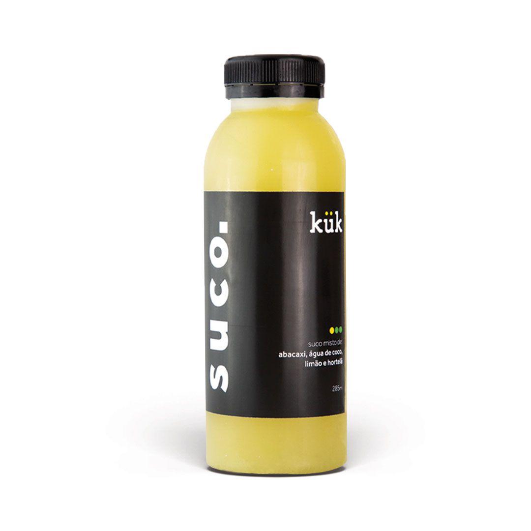 Suco 07 - Abacaxi, Água de coco, Limão e Hortelã - 285ml