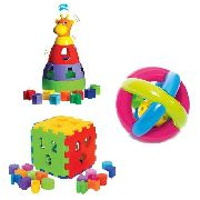Kit de Brinquedos para meu Bebê