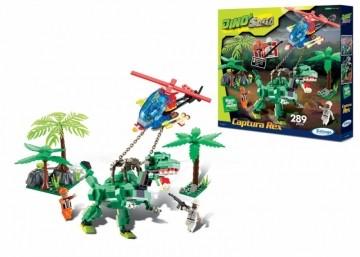 Blocos de Encaixe Dino Saga Captura Rex - 286 peças
