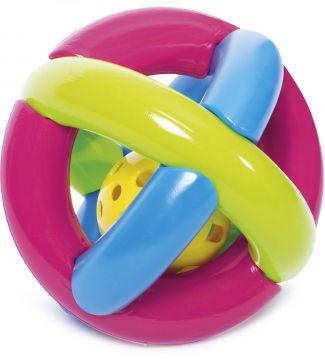Bola com chocalho para Bebês - Mercotoys