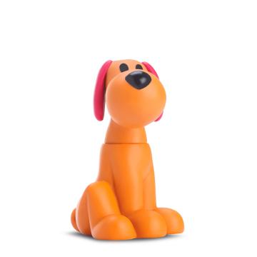Boneco de Vinil Loula - Brinquedo Turma do Pocoyo