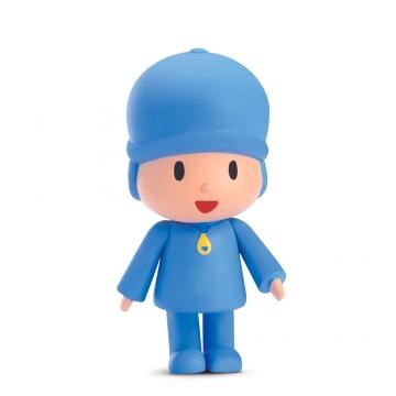 Boneco de Vinil Pocoyo - Brinquedo Turma do Pocoyo