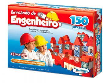 Brincando De Engenheiro - 150 Peças - Xalingo