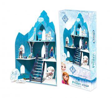 Castelo De Madeira Frozen Disney - Xalingo