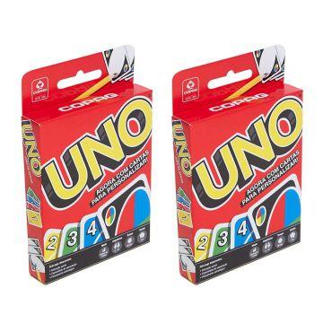 Kit com 2 Jogos de Cartas UNO - Copag