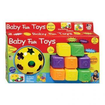 Kit de Brinquedos Baby Fun Toys - Pica Pau