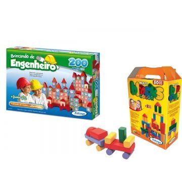 Kit de Brinquedos Educativos 3 anos