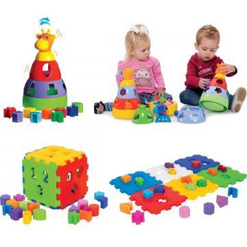 Kit de Brinquedos Educativos Mercotoys
