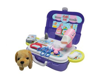 Maleta de Brinquedo Pet Shop - Playset Xalingo