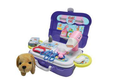 Maleta de Brinquedo Pet Shop - Playset Xalingo