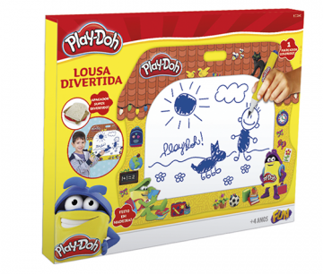 Play Doh Lousa Divertida - Fun Divirta-se