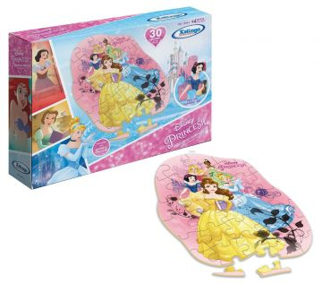 Quebra-cabeças Princesa Disney - 30 Peças - Xalingo