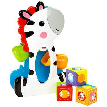 Zebra Blocos Surpresa Fisher Price Mattel