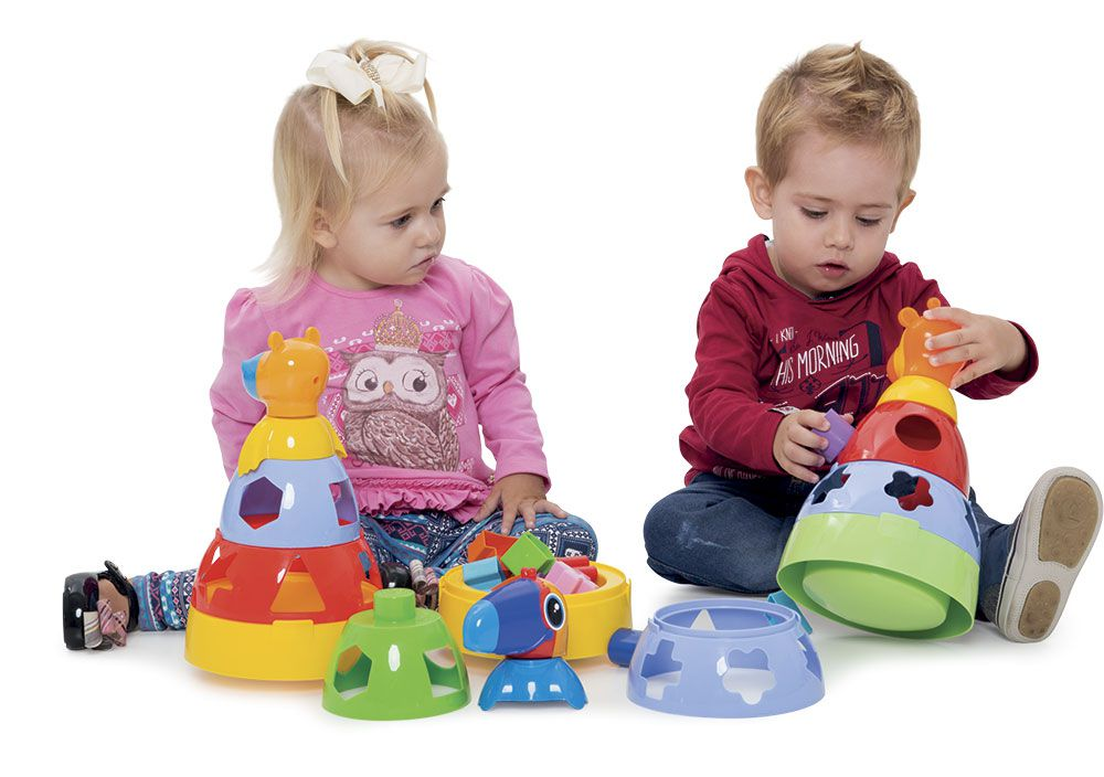 3 Brinquedos Educativos para Bebês