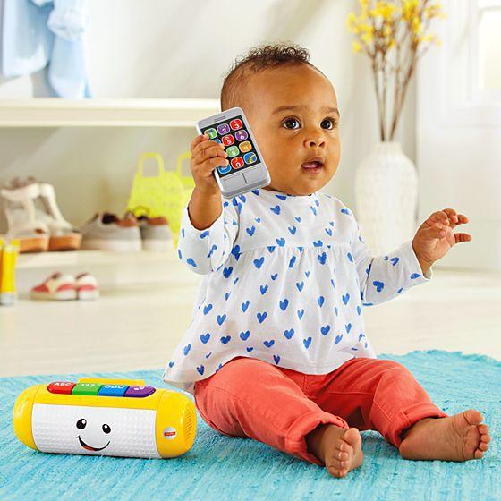 Alto-Falante Fisher-Price Aprender e Brincar para Bebês