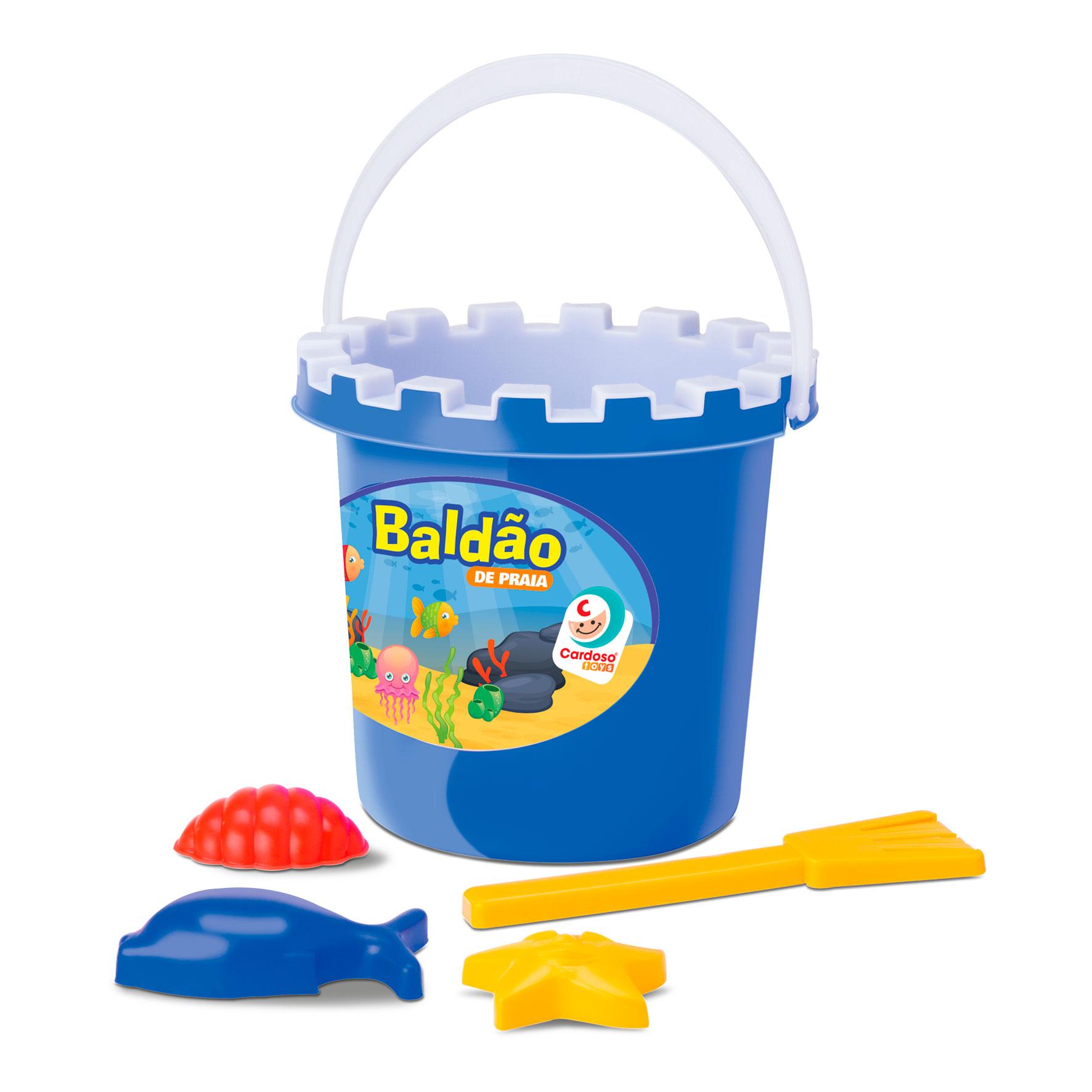 Balde de Praia para Bebês - Cardoso Toys