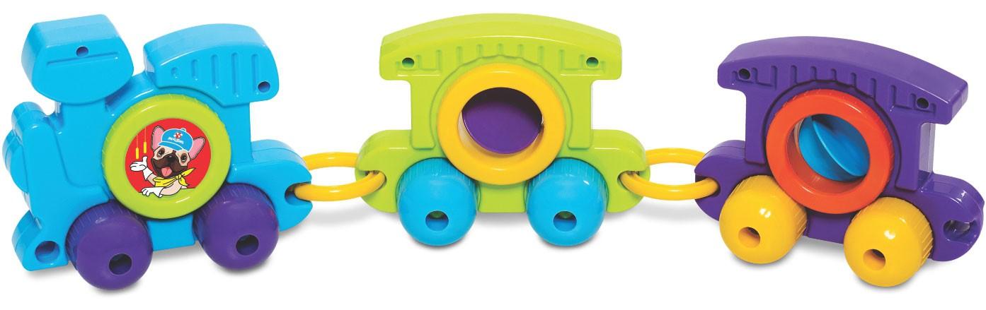 Brinquedo Educativo Babytrain Express 8 Trilhos - Mercotoys