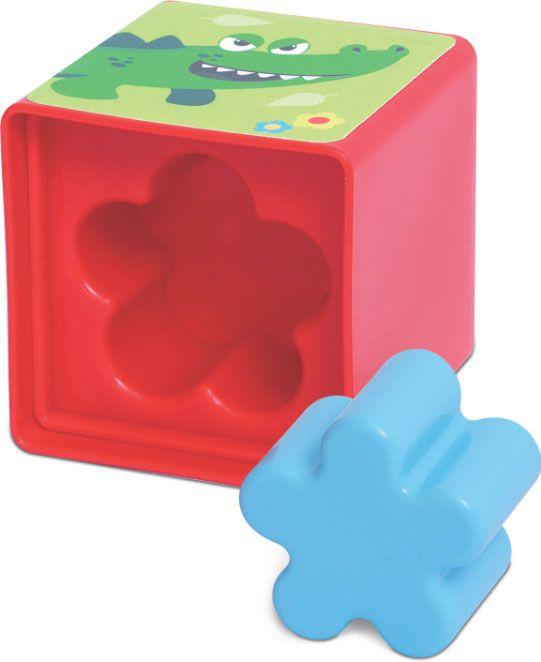 Brinquedo Educativo Cubinhos 5 em 1 - Mercotoys