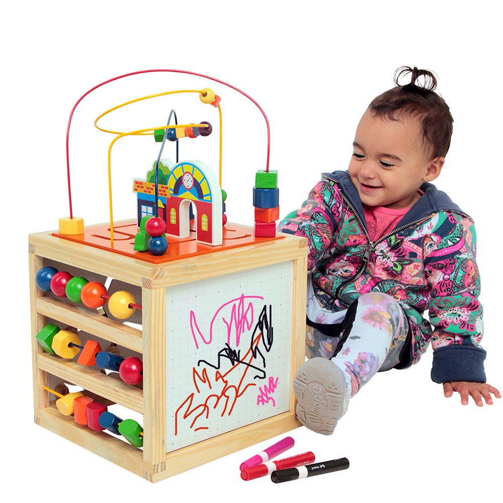 Brinquedo Educativo e Interativo com 5 atividades