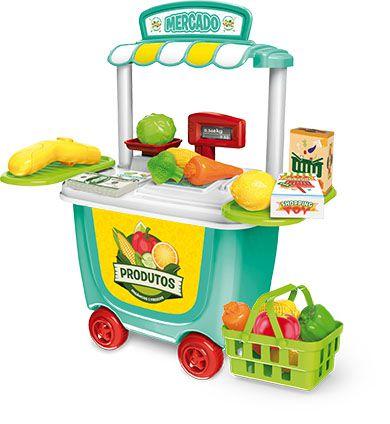 Brinquedo Tendinha Mercado - Xalingo