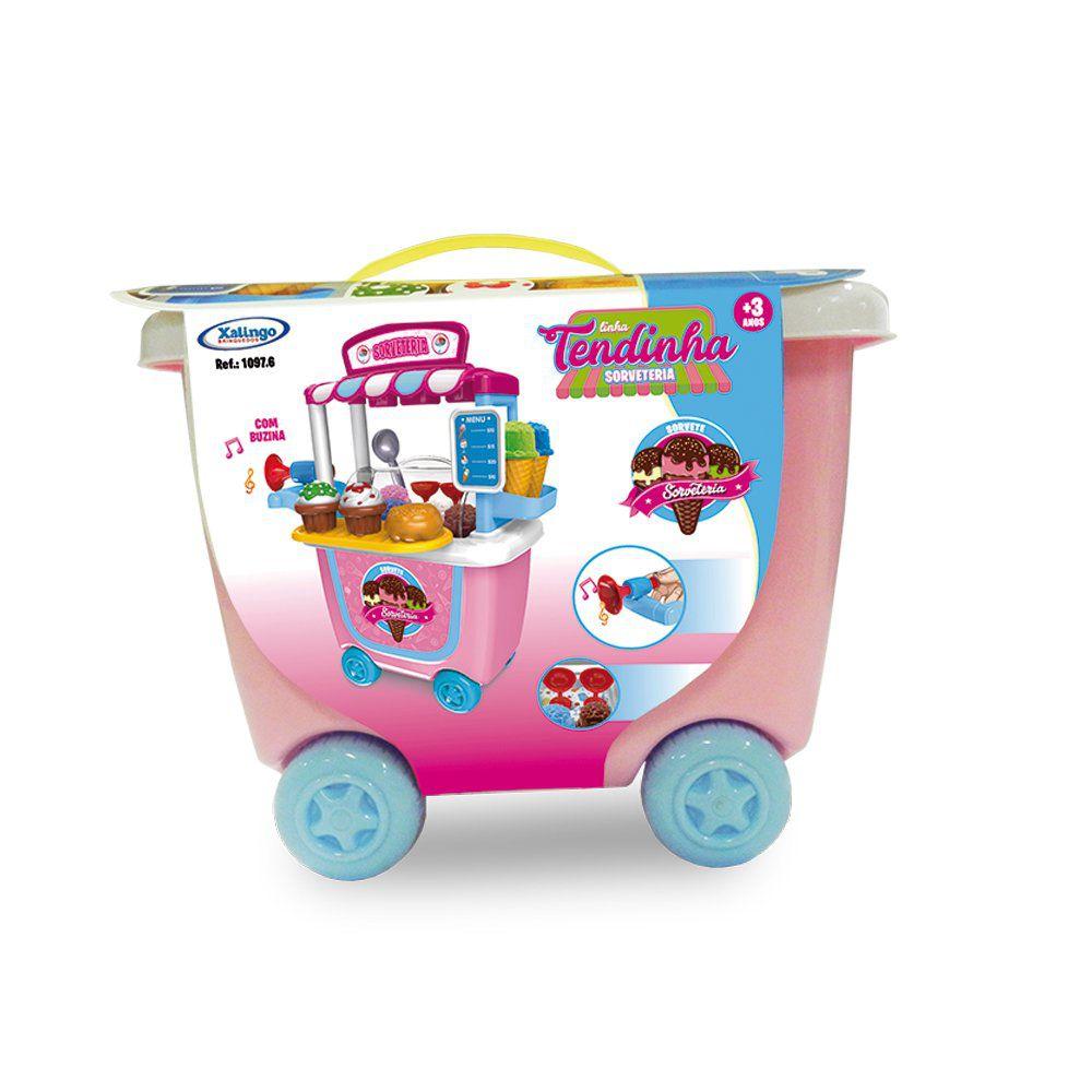Brinquedo Tendinha Sorveteria - Xalingo