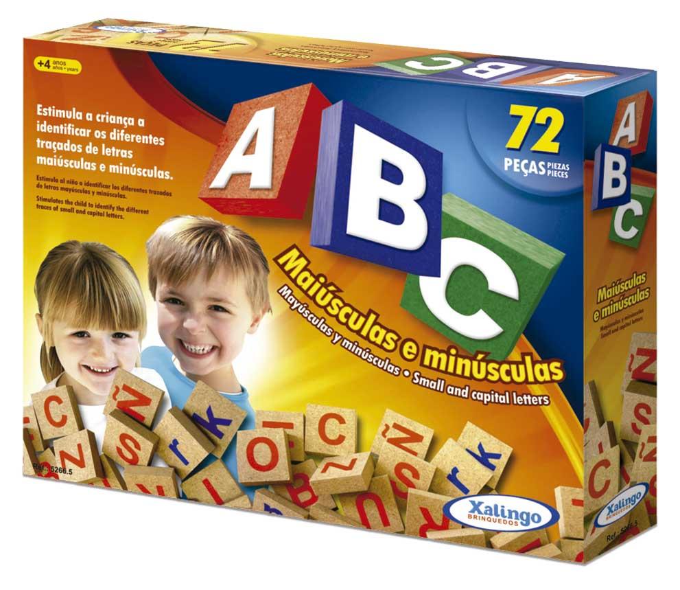 Brinquedos Educativos ABC 72 Peças - Xalingo