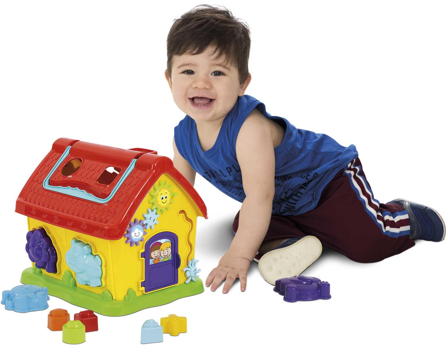 Casinha Infantil Divertida da Dinda Aranha Multiatividades - Mercotoys