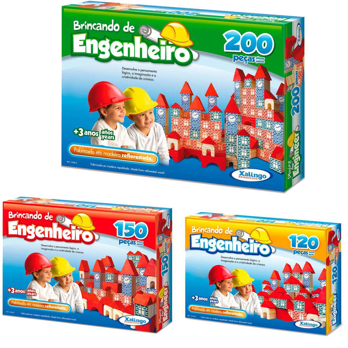 Coleção Brincando de Engenheiro - Xalingo