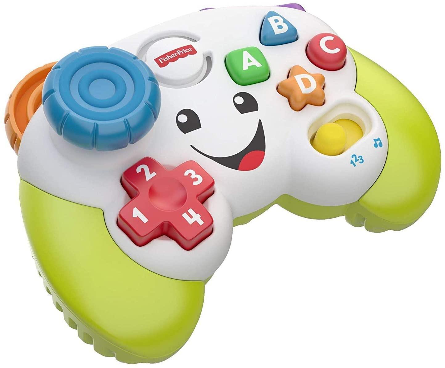 Controle de Videogame Fisher Price Aprender e Brincar