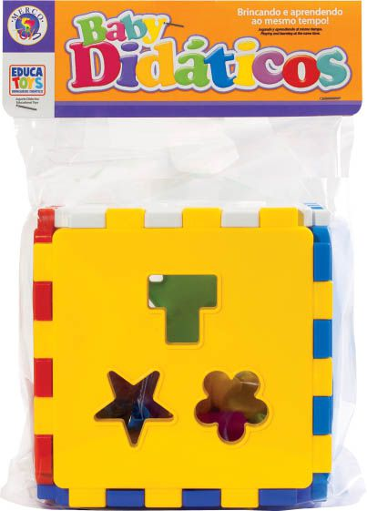 Cubo Didático Educativo - Mercotoys